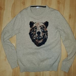 Old navy bear sweater